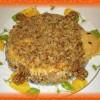«Черепаховый» салат с курицей