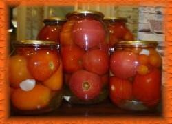 Вкусные маринованные помидоры на зиму без приправ