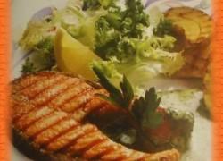 Рыба жареная на решетке на углях— рецепт