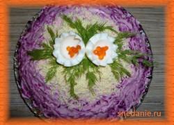 Салат Селедка под шубой, рецепт