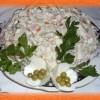 Салат Оливье— классический рецепт с колбасой