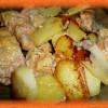 Форель с картошкой в мультиварке в сливочном соусе