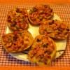 Горячие бутерброды в духовке с колбасой и сыром— вкусная мини-пицца, рецепт с  фото