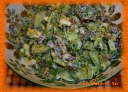 Легкий летний салат— рецепт