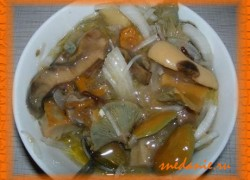Соленые грибы на зиму в банке— рецепт с фото