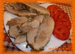 Свинина в молоке с чесноком и специями в мультиварке— рецепт с фото