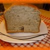Пшеничный хлеб с чесноком и укропом в хлебопечке— рецепт с фото