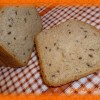 Пшенично-ржаной хлеб с семечками в хлебопечке— рецепт с фото