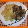 Свинина с шампиньонами в сливочном соусе— рецепт с фото