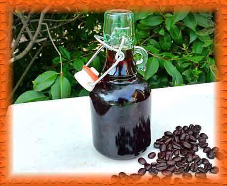 Кофейный ликер, рецепт
