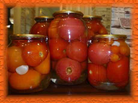Маринованные помидоры без приправ