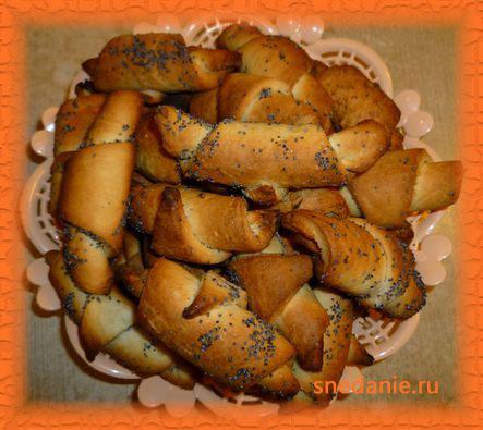 Трубочки с начинкой - простая и вкусная выпечка к чаю