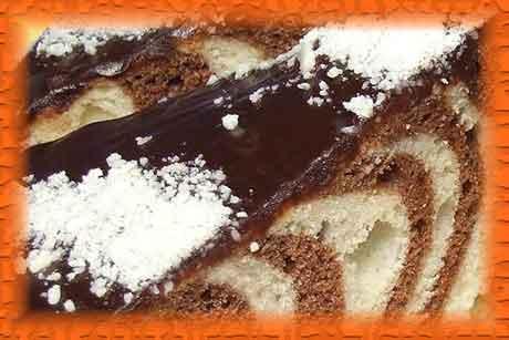 """Торт """"Зебра"""" рецепт"""