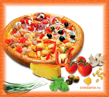 Домашняя пицца, рецепт