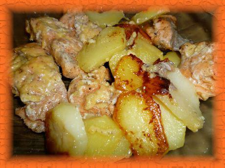 Форель с картошкой в мультиварке