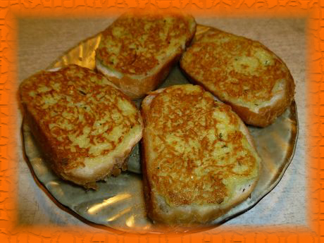 Горячие бутерброды с картошкой
