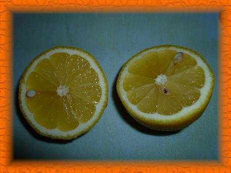 Выжимаем сок лимона, перемешиваем
