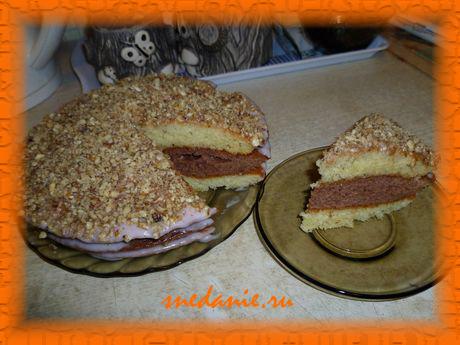 Простой и вкусный торт - пошаговый рецепт с фото