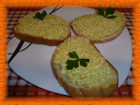 Паштет из яиц для бутербродов - оригинально, просто, вкусно!