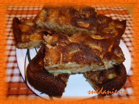 Медовый пирог с корицей и яблоками рецепт с фото