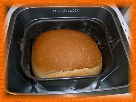 Хлеб из пшеничной муки на ряженке с кунжутом