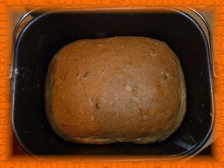 ржано-пшеничный хлеб с семечками