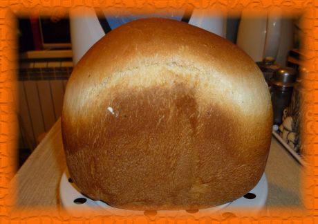 Белый пшеничный хлеб на йогурте