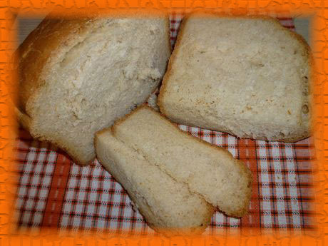 Хлеб на манке в хлебопечке - рецепт с фото
